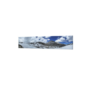 Snow Covered Donahue Pass - John Muir TraIl Canvas Print