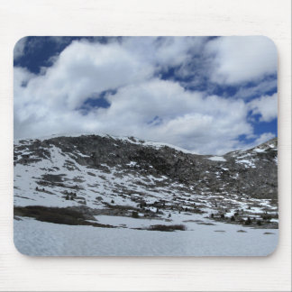 Snow Covered Donahue Pass - John Muir TraIl Mouse Pad