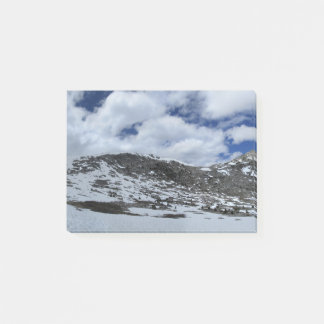 Snow Covered Donahue Pass - John Muir TraIl Post-it Notes