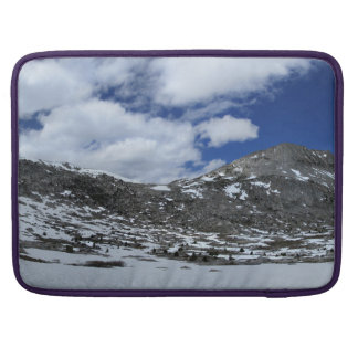 Snow Covered Donahue Pass - John Muir TraIl Sleeve For MacBooks