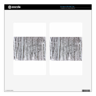 Snow Covered Forest #2.jpg Decals For Kindle Fire