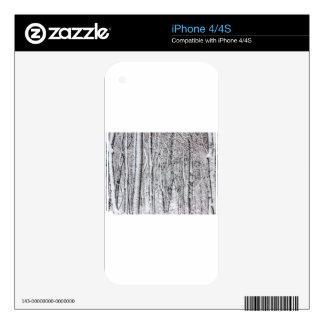 Snow Covered Forest #2.jpg Decal For iPhone 4S