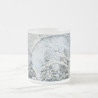 Snow Covered Forest Mugs