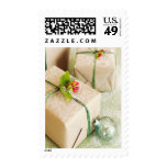 Snow Covered Holiday Presents Stamp