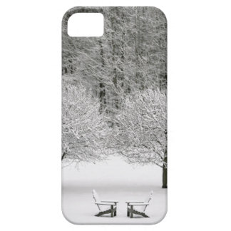 Snow covered landscape iPhone SE/5/5s case