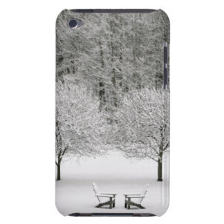 Snow covered landscape iPod touch case