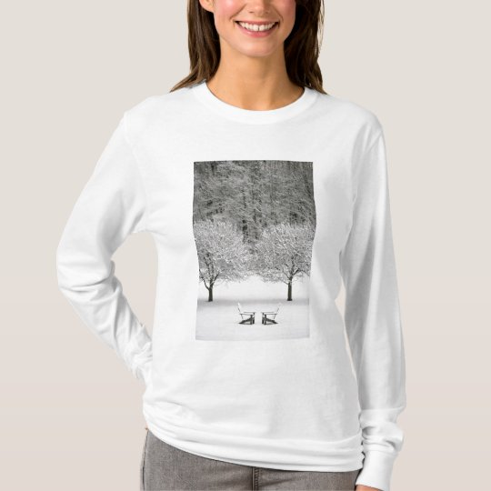 Snow covered landscape T-Shirt