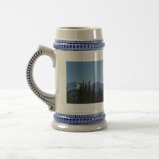 Snow Covered Mountain Beer Stein