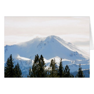 Snow covered mountain cards