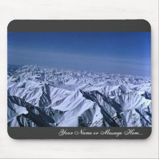 Snow-covered Mountain Peaks Brooks Range Mouse Pad