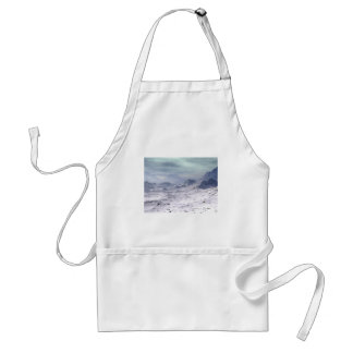 Snow Covered Mountains Adult Apron