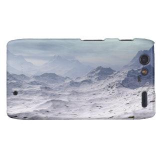 Snow Covered Mountains Motorola Droid RAZR Covers