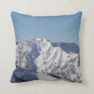 Snow  Covered mountains pillow
