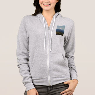 Snow covered Mt Adams in Washington State Hoodie