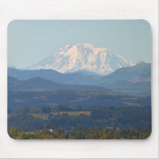 Snow covered Mt Adams in Washington State Mouse Pad