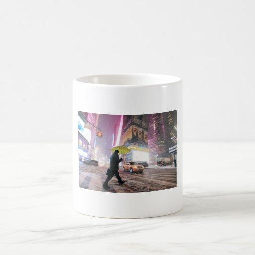 Snow-covered New York Coffee Mug