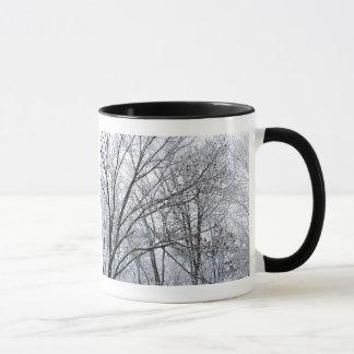 Snow-covered Oak Tree Mug
