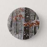 Snow Covered Oak Trees Winter Nature Photography Button