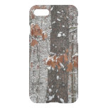 Snow Covered Oak Trees Winter Nature Photography iPhone 8/7 Case