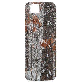 Snow Covered Oak Trees Winter Nature Photography iPhone SE/5/5s Case