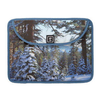 Snow-covered Red Fir trees in the High Sierra 2 MacBook Pro Sleeve