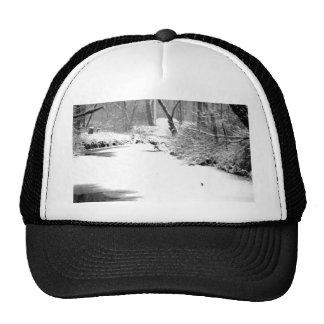 Snow Covered Stony Creek Trucker Hat