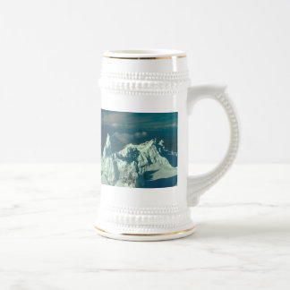 Snow Covered Swiss Alps Beer Stein