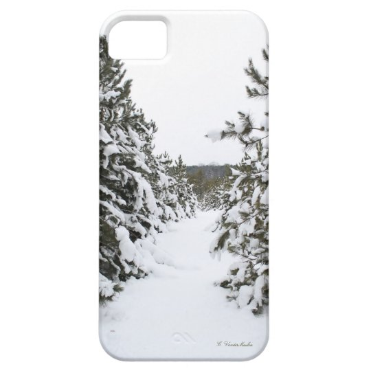 Snow covered trails iPhone SE/5/5s case