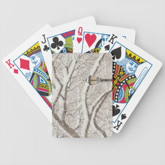 Snow Covered Tree 2 Bicycle Playing Cards
