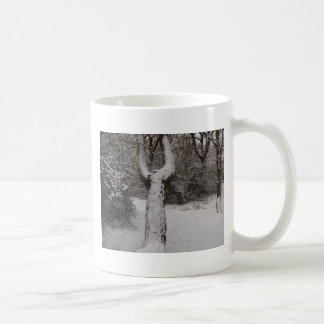 Snow Covered Tree In Epping Forest Coffee Mug