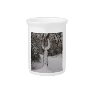 Snow Covered Tree In Epping Forest Pitcher