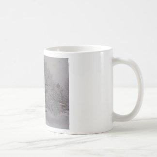 Snow Covered Tree In Maine Coffee Mug