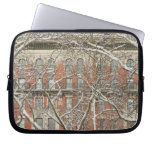 Snow Covered Tree Laptop Sleeves