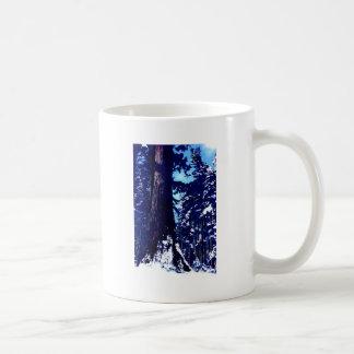 Snow Covered Tree Mugs
