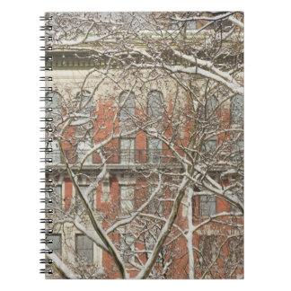 Snow Covered Tree Notebook