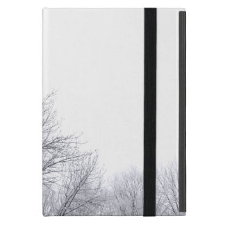 Snow-covered Trees: Horizontal Case For iPad Mini