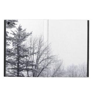 Snow-covered Trees: Horizontal iPad Air Case