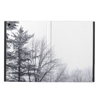 Snow-covered Trees: Horizontal iPad Air Case