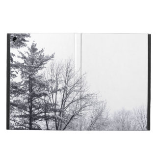 Snow-covered Trees: Horizontal iPad Air Covers