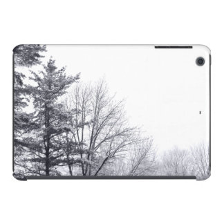 Snow-covered Trees: Horizontal iPad Mini Cases