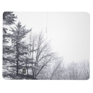 Snow-covered Trees: Horizontal Journal