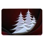 Snow Covered Trees Premium Flexi Magnet Vinyl Magnet