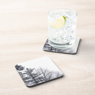Snow-covered Trees: Vertical Beverage Coaster