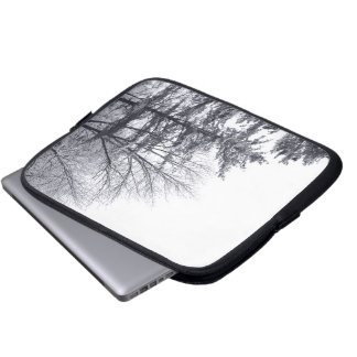 Snow-covered Trees: Vertical Computer Sleeve