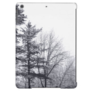 Snow-covered Trees: Vertical iPad Air Cover