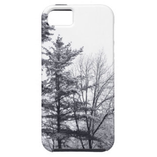 Snow-covered Trees: Vertical iPhone 5 Cover