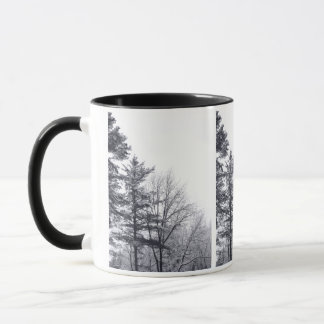 Snow-covered Trees: Vertical Mug