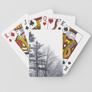 Snow-covered Trees: Vertical Playing Cards