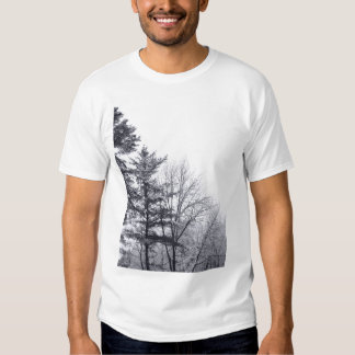 Snow-covered Trees: Vertical Shirt
