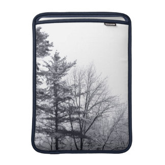 Snow-covered Trees: Vertical Sleeve For MacBook Air